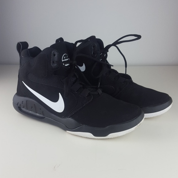 Rewelacyjny Nike Shoes | Air Max High Tops Mens Size 8 Black | Poshmark AH02